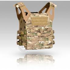 Lightweight Jump Plate Carrier with Pouch Set - MULTICAMO